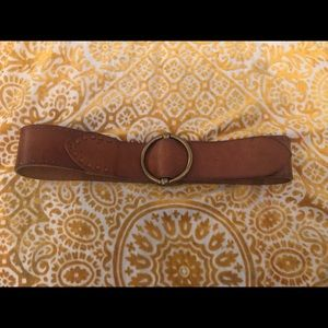 Lucky Brand Brown Leather Belt SZ 30